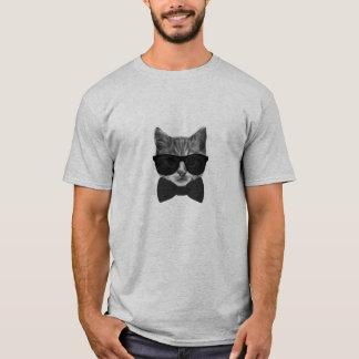 HIPSTER BOWTIE COOL CAT T-Shirt