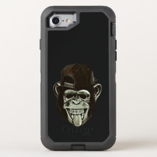Hipster Chimpanzee OtterBox Defender iPhone 8/7 Case