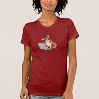 Hipster Corgi 2 T-Shirt