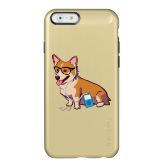 Hipster Corgi (without text) Incipio Feather® Shine iPhone 6 Case