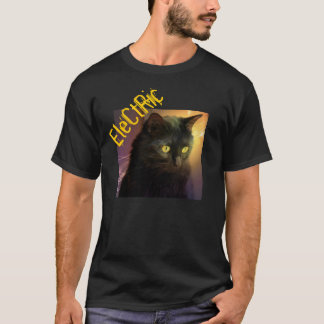 "Hipster ""Electric"" Cat Shirt"
