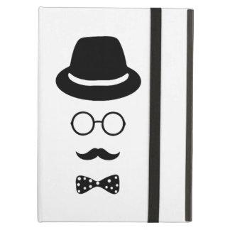 Hipster Face iPad Air Mini 2 3 4 Case No Kickstand