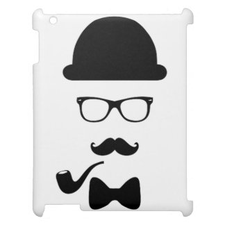Hipster Face Matte iPad Air Mini Retina Case Cover For The iPad