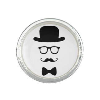 Hipster Face Ring