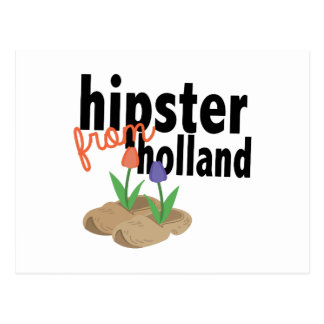 Hipster From Holland Postcard