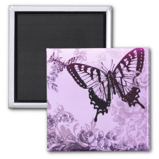 hipster girly boho chic butterfly magnet
