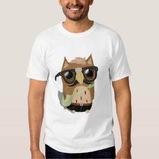 Hipster Owl T-Shirt