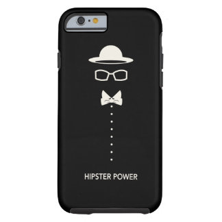 """""""Hipster Power"""" Tough iPhone 6 Case"""