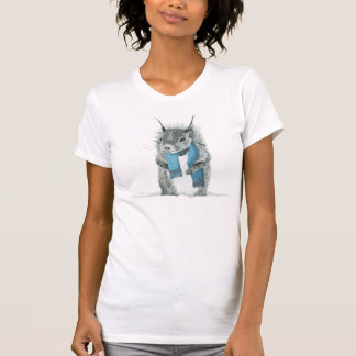 Hipster Squirrel T-Shirt