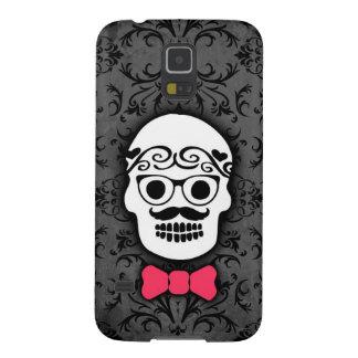 Hipster Sugar Skull with Bowtie Samsung Galaxy Nexus Cases