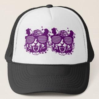 Hipster Tiger Trucker Hat