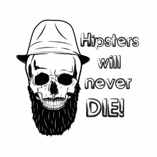 Hipsters will never die! photo sculpture decoration