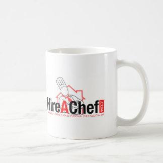Hire A Chef - faded background.jpg Coffee Mug