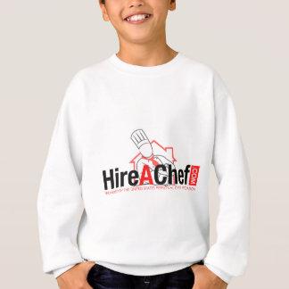 Hire A Chef - faded background.jpg Sweatshirt