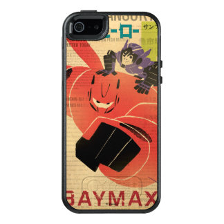 Hiro And Baymax Propaganda OtterBox iPhone 5/5s/SE Case