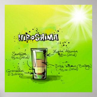 Hiroshima Cocktail Poster