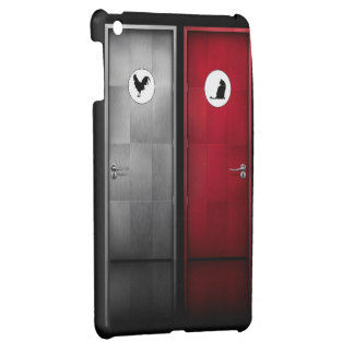His and Hers Bathrooms Case For The iPad Mini