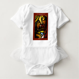 his name shall be emmanuel baby bodysuit