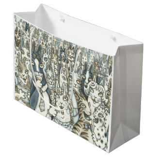 Hiss N' Fitz Cats LIFE'S A PARTY Lge. GIFT BAG