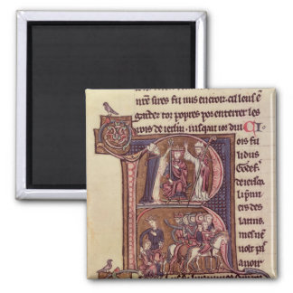 Historiated initial 'R' Magnet