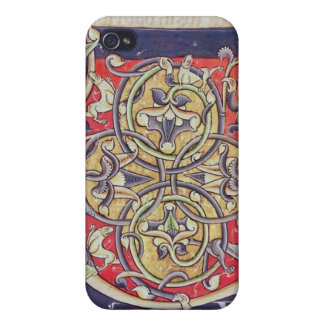 Historiated initial 'U' iPhone 4/4S Covers