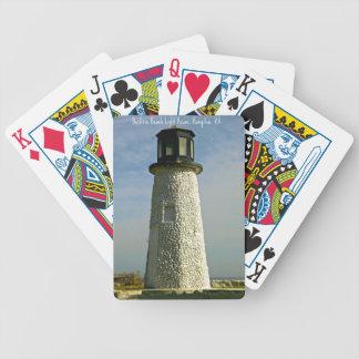 Historic Buckroe Beach Lighthouse Poker Deck