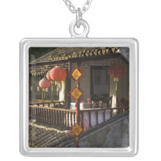 Historic Zhouzhuang Water Village, Zhouzhuang, Silver Plated Necklace