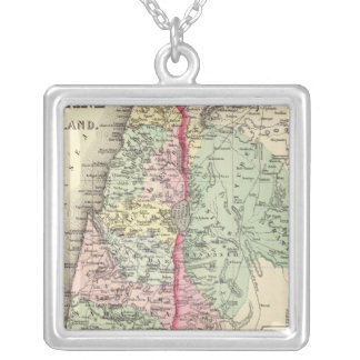 Historical Palestine Silver Plated Necklace