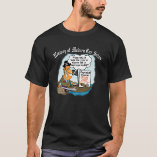 History of Modern Car Sales T-Shirt