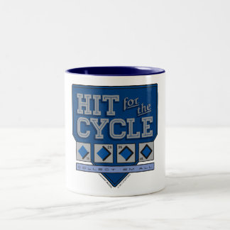 Hit for the Cycle : Blue + Black Mug