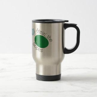 Hittin Slopes Disc Stainless Steel Travel Mug