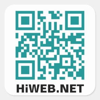 HiWEB QR Code Sticker