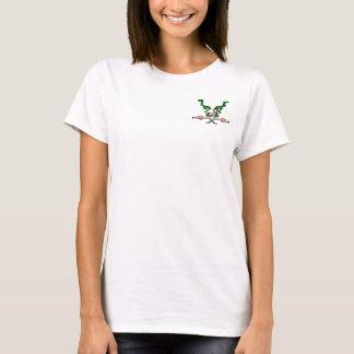 HKN4U™ MAIN SKULL OUTLINE T-Shirt