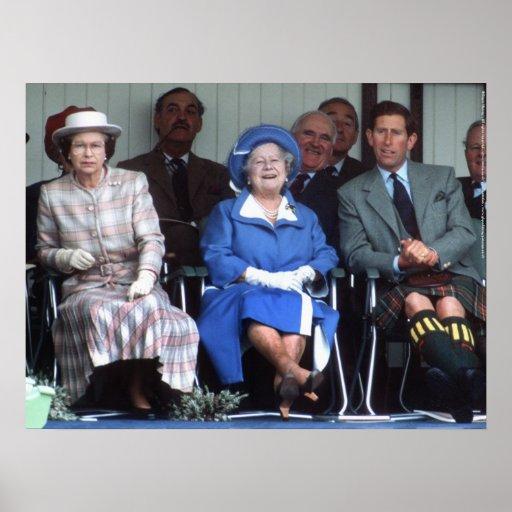 HM Queen Elizabeth, The Queen Mother Posters