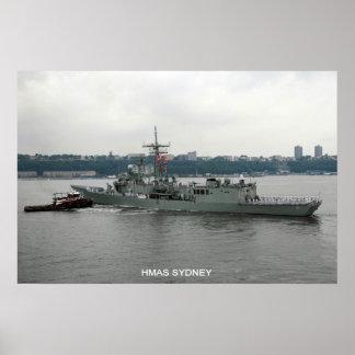 HMAS Sydney Poster