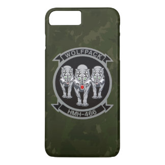 "HMH-466 ""Wolfpack"" Dark Green Camo iPhone 7 Plus Case"