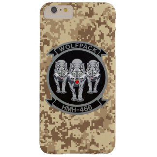 """HMH-466 """"Wolfpack"""" Marine Camo Barely There iPhone 6 Plus Case"""