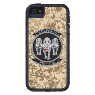 HMH-466 Wolfpack Marine Camo iPhone 5/5S Cases