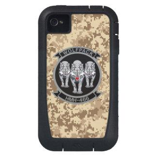HMH-466 Wolfpack Marine Camo iPhone4 Case