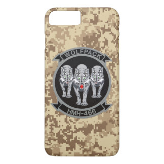 "HMH-466 ""Wolfpack"" Marine Camo iPhone 7 Plus Case"