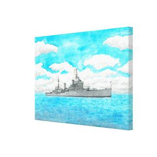 HMS Kenya Canvas Print