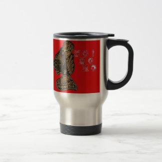 Ho Ho Ho! Merry Christmas Indonesia cute retro vin Stainless Steel Travel Mug