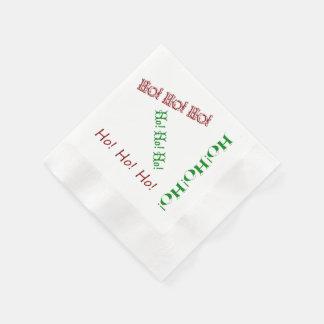 Ho! Ho! Ho! Napkins Disposable Napkin