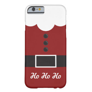 Ho Ho Ho  Santa Suit Christmas iPhone 6 case Barely There iPhone 6 Case