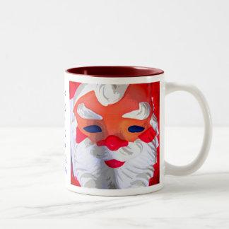 Ho Ho Ho Two-Tone Coffee Mug