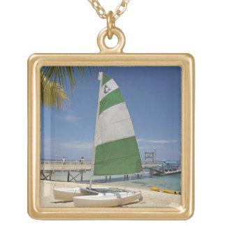Hobie Cat, Plantation Island Resort Gold Plated Necklace