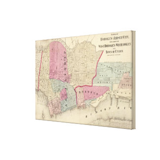 Hoboken, Jersey City Canvas Print