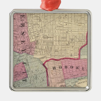 Hoboken, Jersey City Christmas Ornament