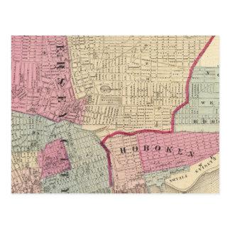 Hoboken, Jersey City Postcard