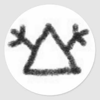 HoboSigns Classic Round Sticker